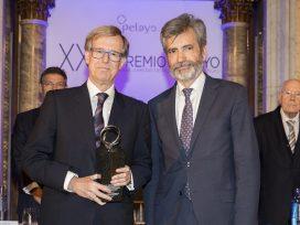 Antonio Hernández-Gil Álvarez-Cienfuegos, galardonado con el XXIII Premio Pelayo para juristas de reconocido prestigio