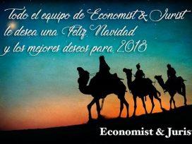 !Todo el equipo de Economist&Jurist les desea una Feliz Navidad!