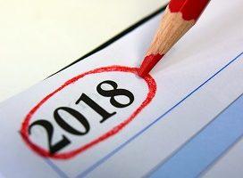 Se aprueba el calendario de días inhábiles para 2018, a efectos de cómputos de plazos