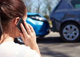 Demanda por delito de lesiones producida por accidente de tráfico contra la aseguradora