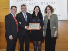 El Notariado, premiado por su revista Escritura Pública