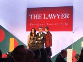 'The Lawyer' premia a Garrigues como 'Firma del Año' del mercado ibérico