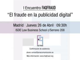 """I Encuentro sobre """"El fraude en la publicidad digital"""""""