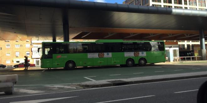 Indemnización por fallecimiento tras la caída en un autobús público
