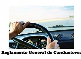Se modifica el Reglamento General de Conductores