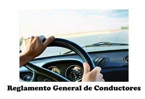 Se modifica el Reglamento General de Conductores