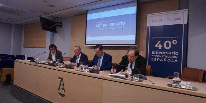 Se clausuran en el CGAE las Jornadas por el 40 Aniversario de la Constitución