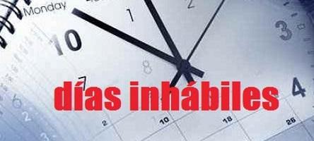 Se publica el calendario de días inhábiles para 2019 en la Administración General del Estado