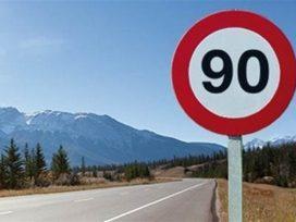 Entra en vigor la reducción de velocidad a 90km/h en carreteras convencionales