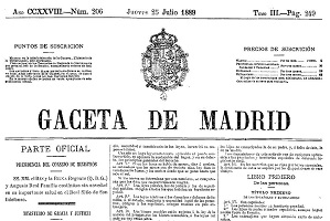 Se crea la Comisión de Trabajo para la Conmemoración del 130º Aniversario del Código Civil