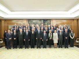 Premio Mundial de la Paz y la Libertad a Su Majestad el Rey Felipe VI