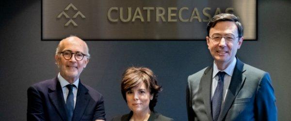 Soraya Sáenz de Santamaría, ex vicepresidenta del Gobierno nueva socia de  Cuatrecasas