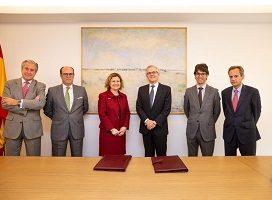 El Colegio de Registradores y la CNMV firman un convenio de colaboración sobre acceso a información del Registro de la Propiedad y del Registro Mercantil