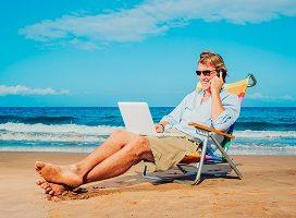 Autónomos: cómo mantenerse conectado mientras se disfruta de las vacaciones de verano