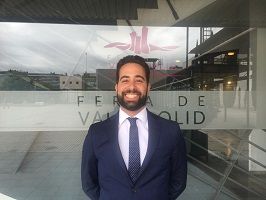 Feria de Valladolid. Hoy entrevistamos a José Aitor Santana Trujillo #AbogaciaTransforma2019