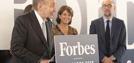 Miquel Roca Junyent recibe el Premio de Honor Forbes Abogados 2019 en reconocimiento a su trayectoria profesional