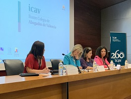 El II Congreso de la Federación Valenciana de la abogacía joven se celebra en el ICAV con la presencia de la consellera de Justicia Gabriela Bravo