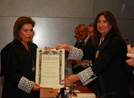 La Magistrada Carolina Castillo, nuevo miembro de la Real Academia Valenciana de Jurisprudencia y Legislación