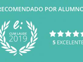 Economist & Jurist School recibe el prestigioso premio Cum Laude como la escuela de formación online mejor valorada por los alumnos
