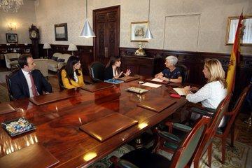 La Fiscal General del Estado recibe a la Fundación #HumanizandoLaJusticia