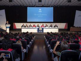 ISDE celebra la graduación del año académico 2018-2019