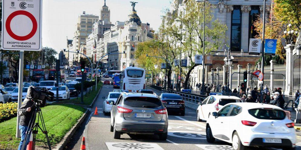 """""""La justicia madrileña se pone de parte de Madrid Central y confirma la suspensión de la moratoria de multas"""""""