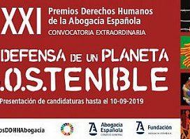 El 10 de septiembre termina el período para presentar candidaturas para la XXI edición de los Premios Derechos Humanos de la Abogacía Española