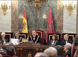 El 4 de septiembre a las 14:00 horas finaliza el plazo de acreditaciones para el acto de apertura del Año Judicial