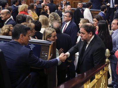 """El Gobierno reformará el Código Penal para aligerar la condena de los presos del """"Procés"""""""