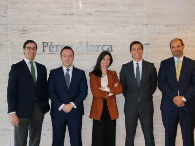 Pérez-Llorca nombra cinco nuevos socios