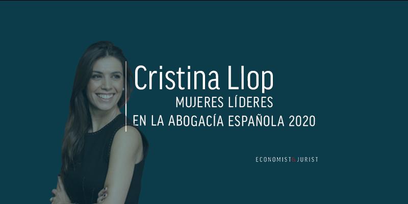 """Cristina Llop (ECIJA): """"La situación de la mujer no se arregla tanto con políticas de discriminación positiva"""""""