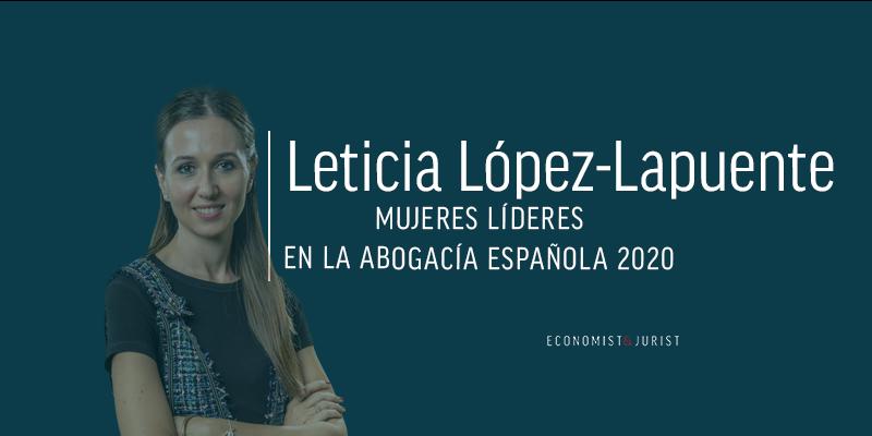 """Leticia López-Lapuente (Uría): La ola por la que las abogadas están consiguiendo acceso a posiciones de visibilidad es imparable"""""""