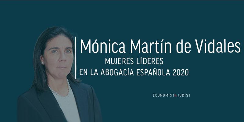 """Mónica Martín de Vidales (Garrigues): Es cuestión de tiempo que todas aquéllas que se lo propongan alcancen las más altas metas en igualdad de condiciones"""""""