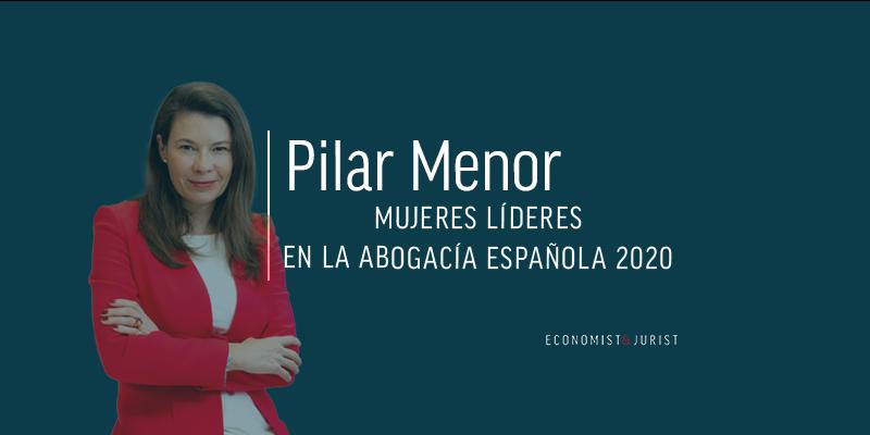 """Pilar Menor (DLA Piper): """"Los despachos debemos analizar si el talento femenino abandona nuestras organizaciones"""""""