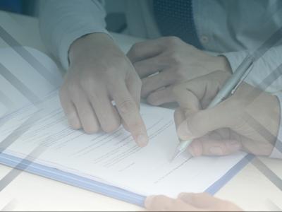Formulario de contrato de colaboración con comisión comercial