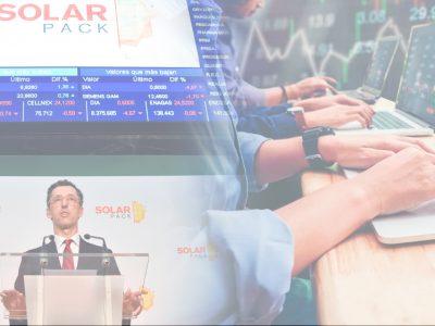 La opa sobre Solarpack genera otra subida en Bolsa de las renovables