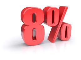 Incremento del 8% en el SMI