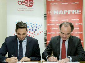 MAPFRE firma un acuerdo de colaboración con la Confederación Española de Jóvenes Empresarios
